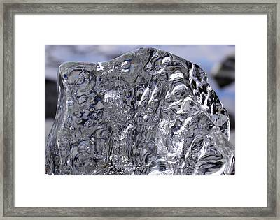 Abstract Dog 2 Framed Print by Sami Tiainen