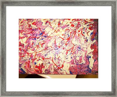 Abstract Emotions Framed Print by Cathy L Kaiser