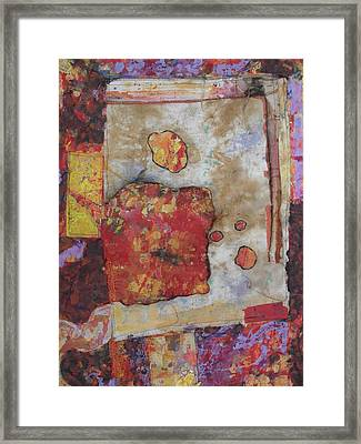 Abstract Expression 5 Framed Print by Richard Tuvey