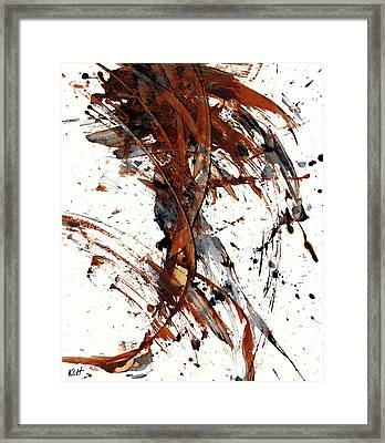 Abstract Expressionism Series 51.072110 Framed Print by Kris Haas