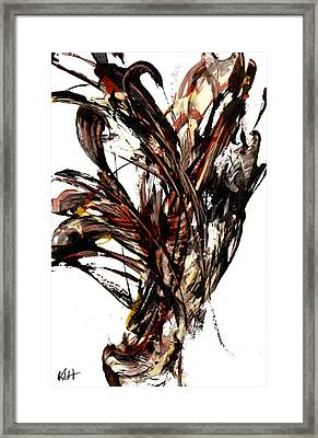 Abstract Expressionism Series 58.121210 Framed Print by Kris Haas