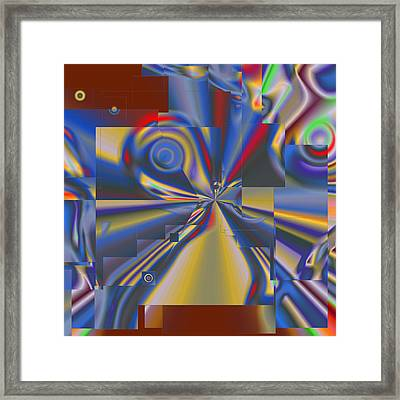 Abstract Fantasy 2 Framed Print by Leslie Harlow
