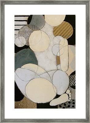 Abstract Female Back  Framed Print