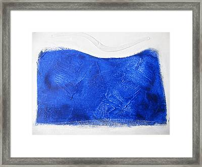 Abstract Female Form Framed Print