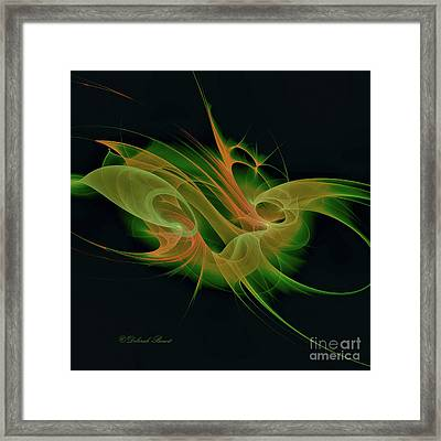 Abstract Ffz Framed Print by Deborah Benoit