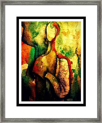 Abstract Figure # 3 Framed Print by Chris Boone
