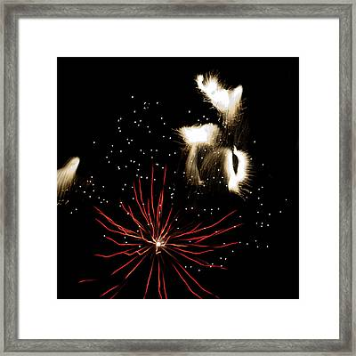 Abstract Fireworks IIi Framed Print