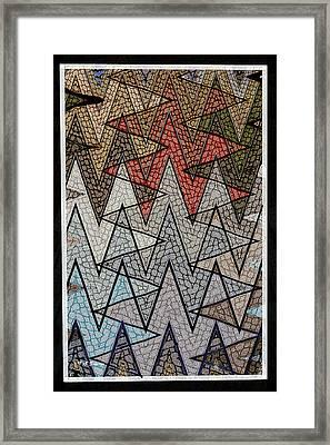 Abstract Floor  Framed Print