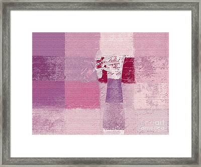 Abstract Floral - 11v3t09 Framed Print by Variance Collections