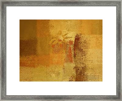 Abstract Floral - 14v2ct01a Framed Print by Variance Collections