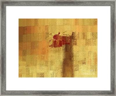 Abstract Floral - 14v2ft Framed Print by Variance Collections