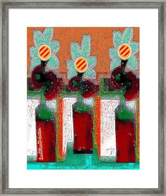 Abstract Floral Art 211 Framed Print