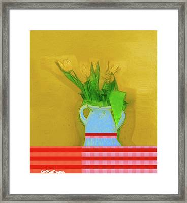 Abstract Floral Art 323 Framed Print