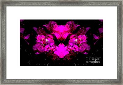 Abstract Floral No.2 Framed Print