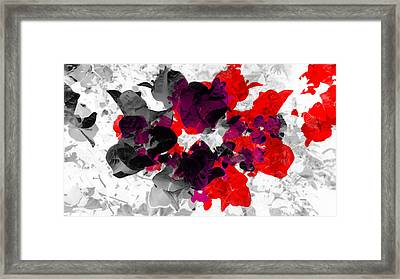 Abstract Floral No.3 Framed Print
