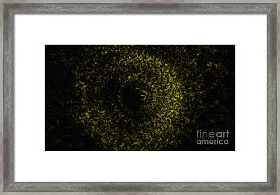 Abstract Floral Swirl No.1 Framed Print
