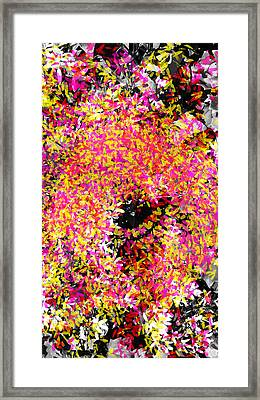 Abstract Floral Swirl No.3 Framed Print