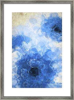 Abstract Flower Vii Framed Print by Angela Doelling AD DESIGN Photo and PhotoArt