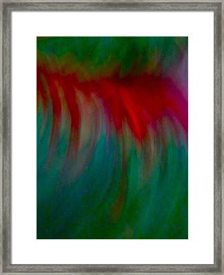 Abstract Flowing Framed Print