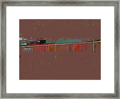 Abstract For Viv Framed Print