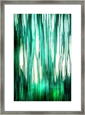 Abstract Forest 3 Framed Print