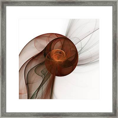 Abstract Fractal Art Framed Print by Gabiw Art