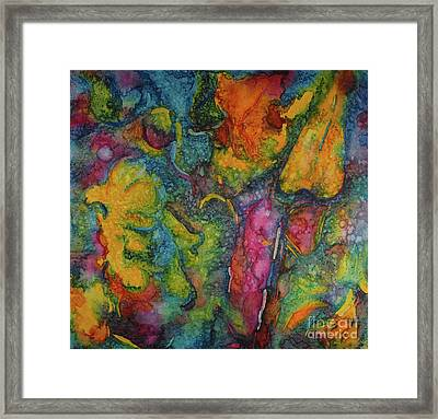 Abstract From Kansas City Framed Print by Jacqueline Phillips-Weatherly
