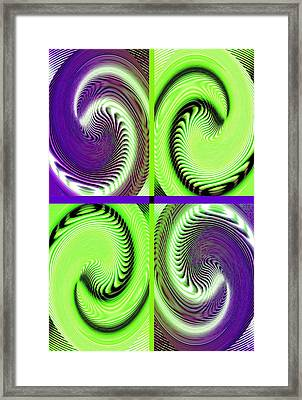 Abstract Fusion 271 Framed Print by Will Borden