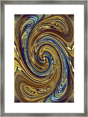Abstract Fusion 272 Framed Print by Will Borden