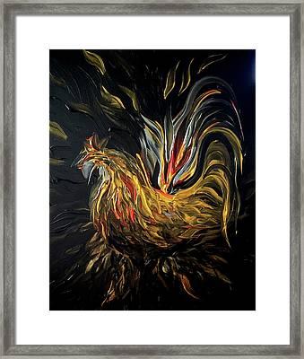 Abstract Gayu Framed Print