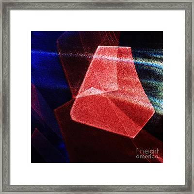 Abstract Geometry Framed Print by Elena Lir-Rachkovskaya