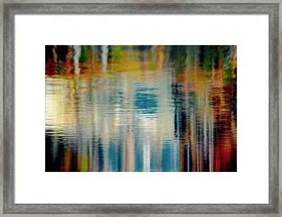 Abstract  Framed Print by Gillis Cone
