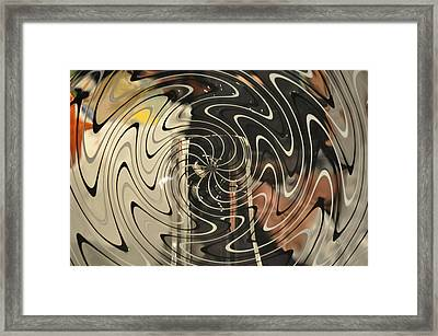 Abstract Glass 3 Framed Print by Marty Koch