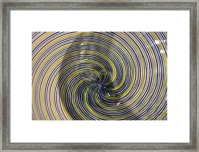 Abstract Glass 6 Framed Print by Marty Koch
