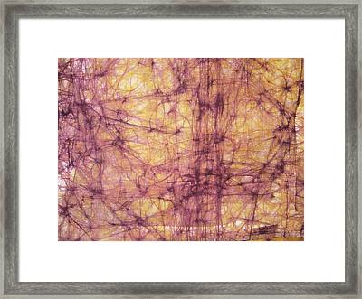 Abstract Framed Print by Gonca Yengin