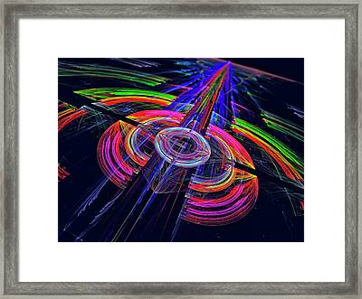 Abstract Graphics Framed Print