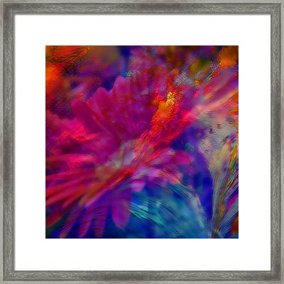 Abstract Gypsy Flower Framed Print