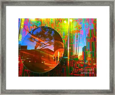 Abstract Hole Framed Print by Jenny Revitz Soper