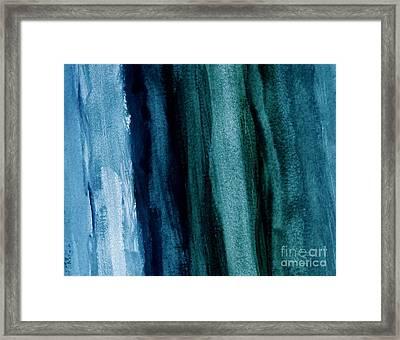 Abstract Hues Framed Print by Marsha Heiken