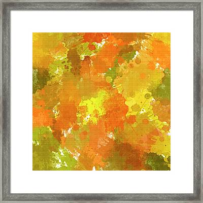 Abstract I Framed Print by Christina Rollo