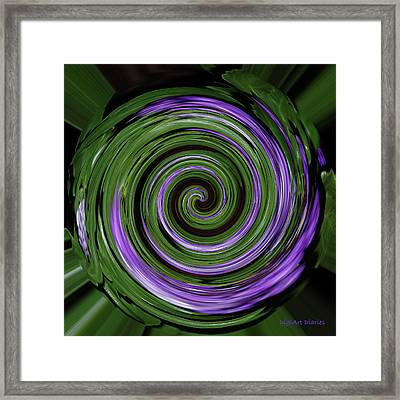 Abstract I Framed Print by DigiArt Diaries by Vicky B Fuller