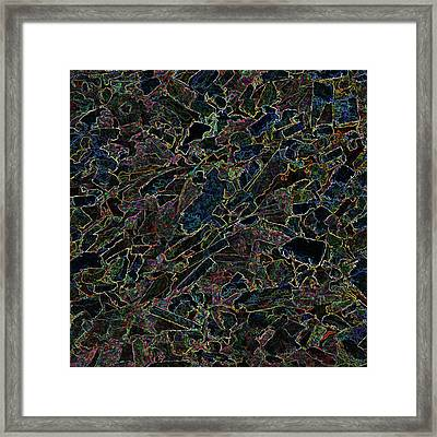 Framed Print featuring the photograph Abstract II by Lewis Mann