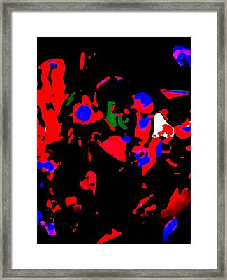 Abstract Images Framed Print by HollyWood Creation By linda zanini