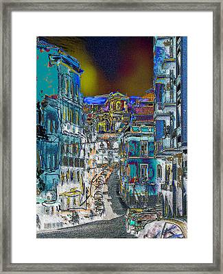Abstract  Images Of Urban Landscape Series #11 Framed Print