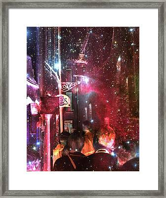 Abstract  Images Of Urban Landscape Series #12 Framed Print