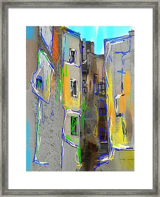 Abstract  Images Of Urban Landscape Series #13 Framed Print
