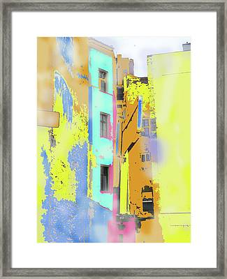 Abstract  Images Of Urban Landscape Series #2 Framed Print
