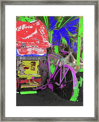 Abstract  Images Of Urban Landscape Series #3 Framed Print