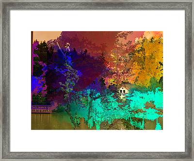 Abstract  Images Of Urban Landscape Series #4 Framed Print