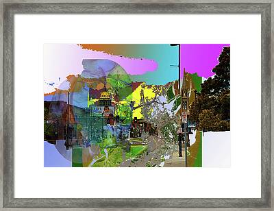 Abstract  Images Of Urban Landscape Series #5 Framed Print
